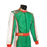 vehiculos /  - Mono FIA Sabelt Nomex Diamond Design Green