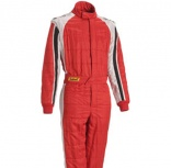 Ropa y complementos - Mono FIA Sabelt Nomex Elettra Dual Red/White