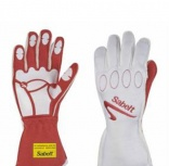 Ropa y complementos - Guantes FIA Sabelt Grip Nomex Ignifugos Red