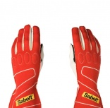 - Guantes FIA Sabelt Touch-E Nomex Ignifugos Red