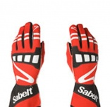 - Guantes FIA Sabelt Power Nomex Ignifugos Red