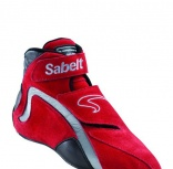 Ropa y complementos - Botines FIA Sabelt Mid Pro Driver Red