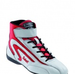- Botines FIA Sabelt Light Mid White/Red
